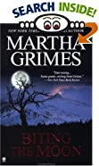 Biting the Moon by  Martha Grimes (Library Binding - October 2001) 