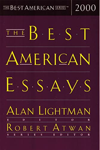 The Best American Essays 2000 (The Best American Series)