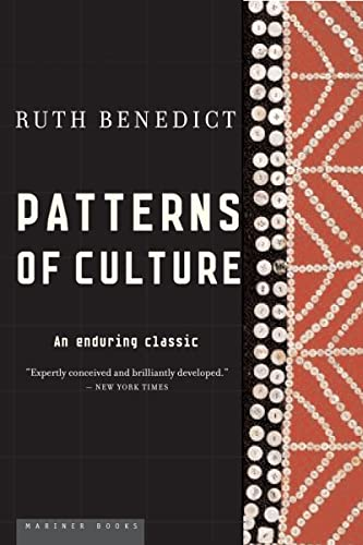 Patterns of Culture, by Benedict, R.