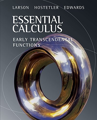 Essential Calculus: Early Transcendental Functions (Available 2010 Titles Enhanced Web Assign), Larson, Ron; Hostetler, Robert P.; Edwards, Bruce H.