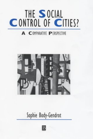 PDF The Social Control of Cities A Comparative Perspective Studies in Urban and Social Change