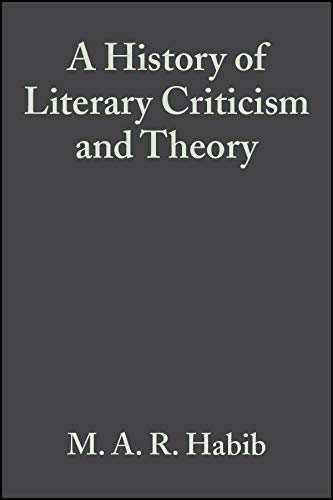 PDF A History of Literary Criticism and Theory From Plato to the Present