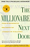 Book Cover: The Millionaire Next Door By Thomas J. Stanley