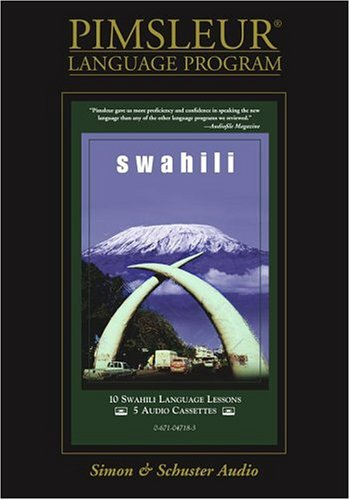 Pimsleur Compact Swahili on Cassettes