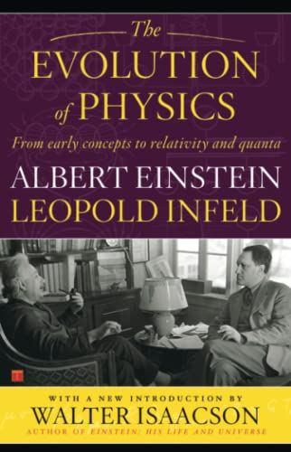 EVOLUTION OF PHYSICS by Albert Einstein, Leopold Infeld