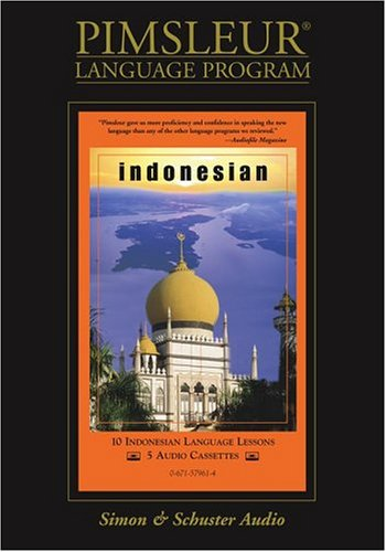 Pimsleur Compact Indonesian on Cassettes (Lessons 1-10)