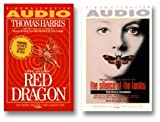 The Silence of the Lambs/Red Dragon [ABRIDGED] by  Thomas Harris, et al (Audio Cassette - June 1999)