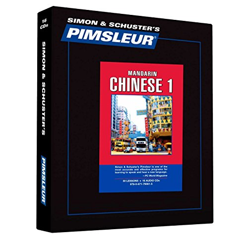 Pimsleur Comprehensive Chinese (Mandarin) I on CDs