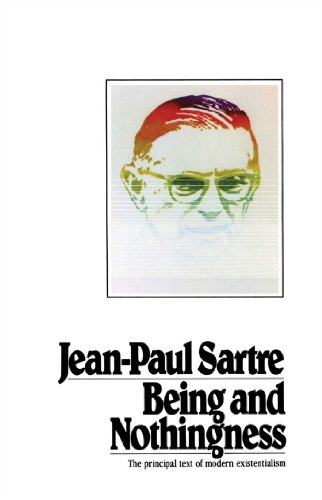 Being And Nothingness, by Sartre, J.P.