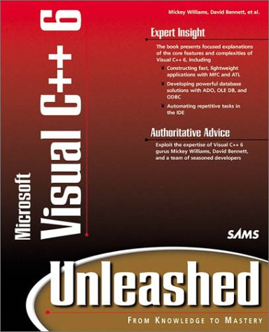 Book Cover: Visual C++ 6 Unleashed