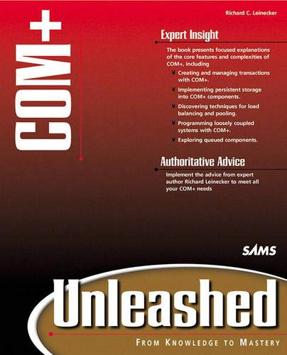 Book Cover: Com+ Unleashed (Unleashed)