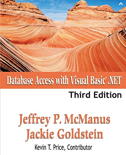 Book Cover: Database Access with Visual Basic .NET (3rd Edition)