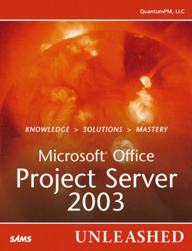 Book Cover: Microsoft Office Project Server 2003 Unleashed