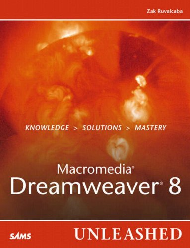 Book Cover: Macromedia Dreamweaver 8 Unleashed (Unleashed)