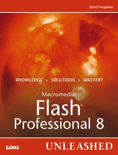 Book Cover: Macromedia Flash Professional 8 Unleashed (Unleashed)