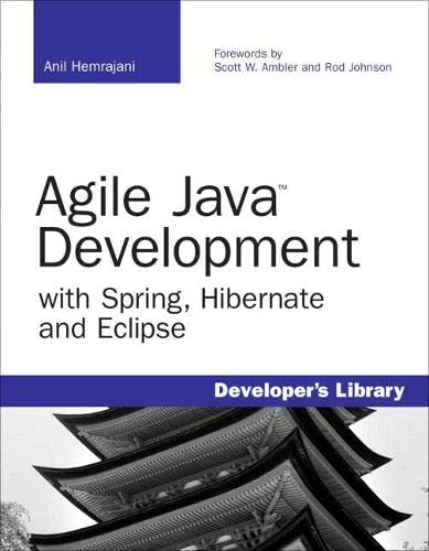 Book Cover: Agile Java Development with Spring, Hibernate and Eclipse (Developer%27s Library