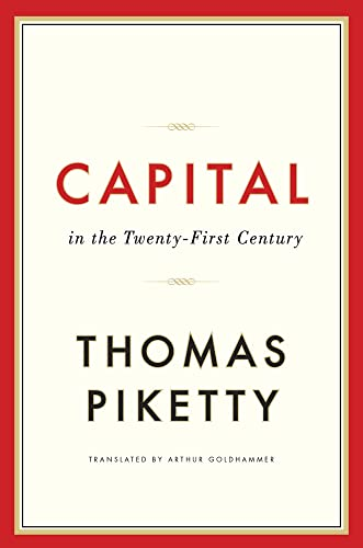 Capital in the Twenty First Century Book Cover Picture