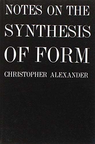 654. Notes on the Synthesis of Form (Harvard Paperbacks)