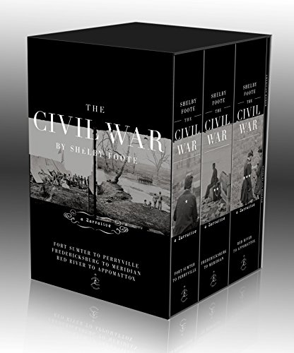 The American Civil War trilogy, by Foote, S.