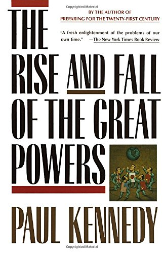 Rise & Fall Of The Great Powers Book Cover Picture