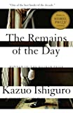 Book Cover: Remains Of The Day By Kazuo Ishiguro