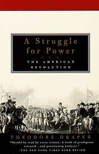 A Struggle for Power: The American Revolution Book Cover Picture