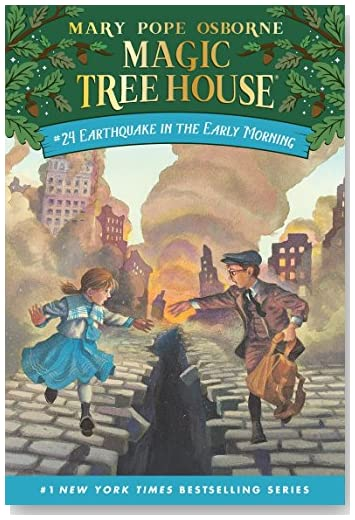 Earthquake in the Early Morning: Magic Treehouse