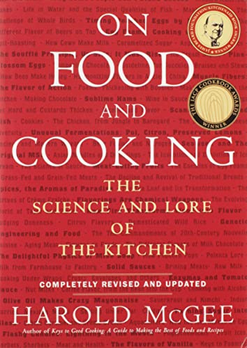 On Food and Cooking Book Cover Picture