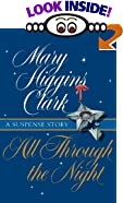 All Through the Night [LARGE PRINT] by  Mary Higgins Clark (Hardcover)