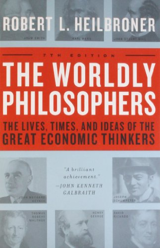 The Worldly Philosophers Book Cover Picture
