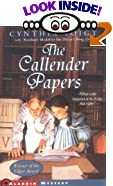 The Callender Papers by  Cynthia Voigt (Author), Suzanne Duranceau (Illustrator) (Paperback)