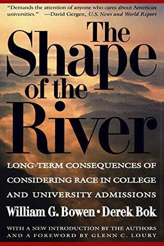 The Shape of the River: Long-Term Consequences of Considering Race in College and University Admissions, Bok, Derek; Bowen, William G.; Shulman, James L.