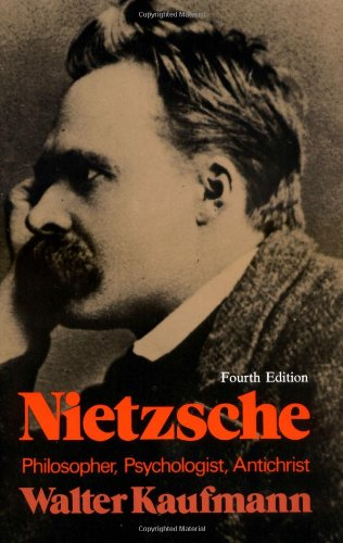Nietzsche: Philosopher, Psychologist, Antichrist Book Cover Picture