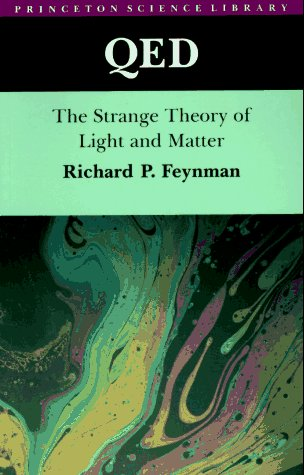 QED: The Strange Theory of Light and Matter Book Cover Picture