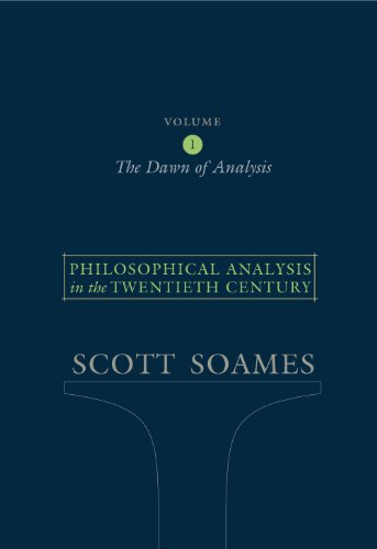 Philosophical Analysis in the Twentieth Century, Volume 1 Book Cover Picture