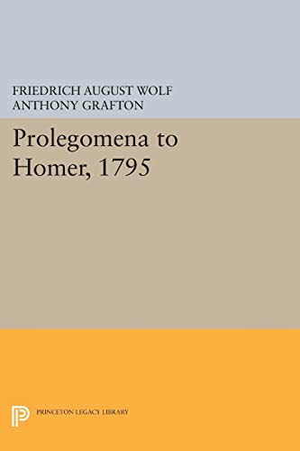 Prolegomena to Homer