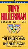 Tony Hillerman Boxed Gift Set: The Fallen Man, The First Eagle [ABRIDGED] by  Tony Hillerman, et al (Audio Cassette - October 1998)