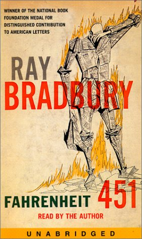 Fahrenheit 451 unabridged audiobook by Ray Bradbury