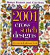 "2001 Cross-Stitch Designs: The Essential Reference Book This book is perfect for the stitcher that likes to take various motifs, and put them together in her own way rather than for the stitcher that likes to have a complete project to stitch and finish ""just like the picture."" I like the myriad of designs, but find that when I use the book, I need to make a working copy that I enlarge to make reading the charts easier. I've used some of the Borders and Patterns for creating bookmarks. There are lots of great idea starters here"