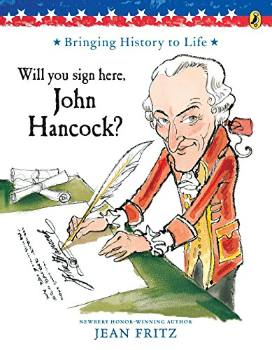 [Will You Sign Here, John Hancock?]