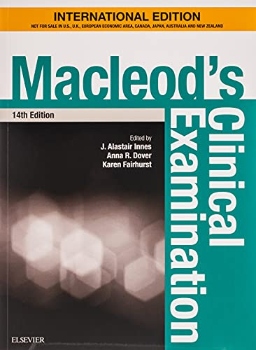 MACLEOD'S CLINICAL EXAMINATION: WITH STUDENT CONSULT ONLINE ACCESS, INTERNATIONAL EDITION, 14E