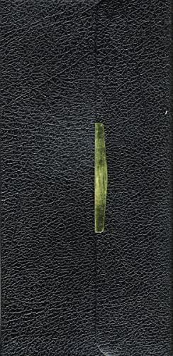 King James Classic Companion Bible: KJV, black bonded leather, snap-flap