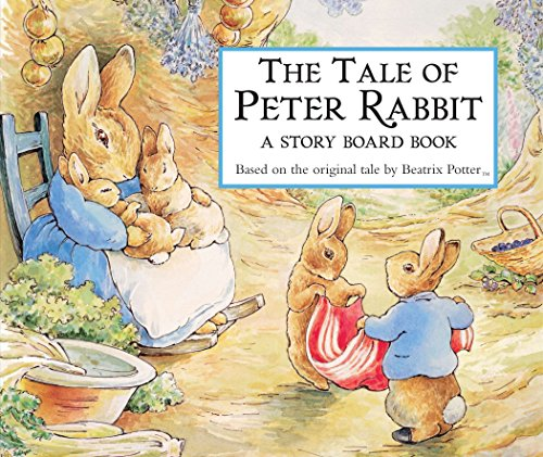 The Tale of Peter Rabbit Story Board Book - Beatrix Potter