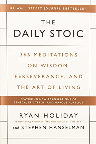 The Daily Stoic Book Cover Picture