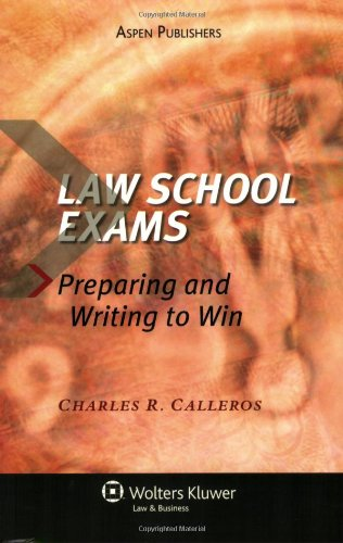 writing essay exams to succeed in law school (not just to survive)