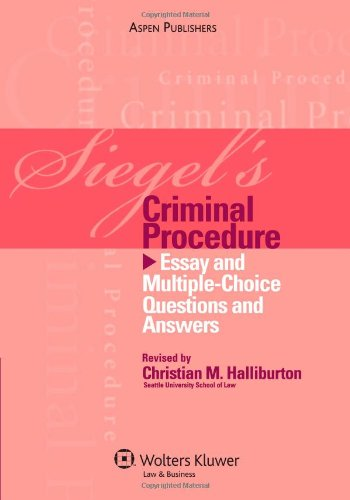criminal law multiple choice questions and answers pdf
