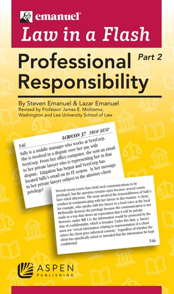 Link to Professional Responsibility flashcards