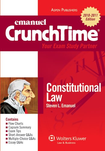 Constitutional Law Study Aids For MU Law Students