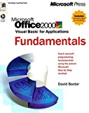 Microsoft Office 2000: Visual Basic for Applications Fundamentals (Developer Learning Tools)