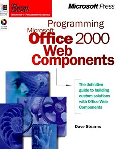 Book Cover: Programming Microsoft Office 2000 Web Components (Microsoft Programming Series)